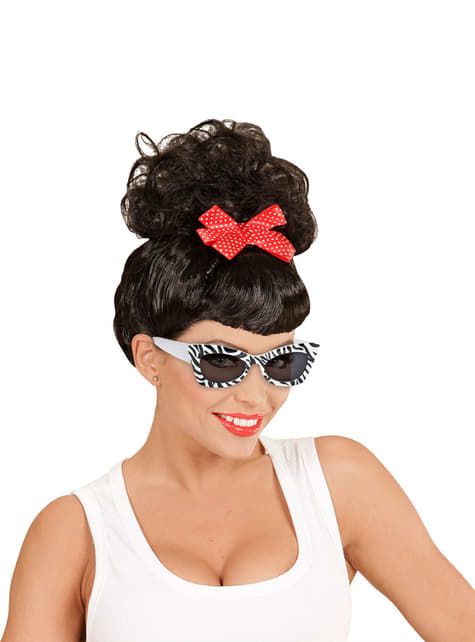 Gafas de cebra retro para adulto - para tu disfraz