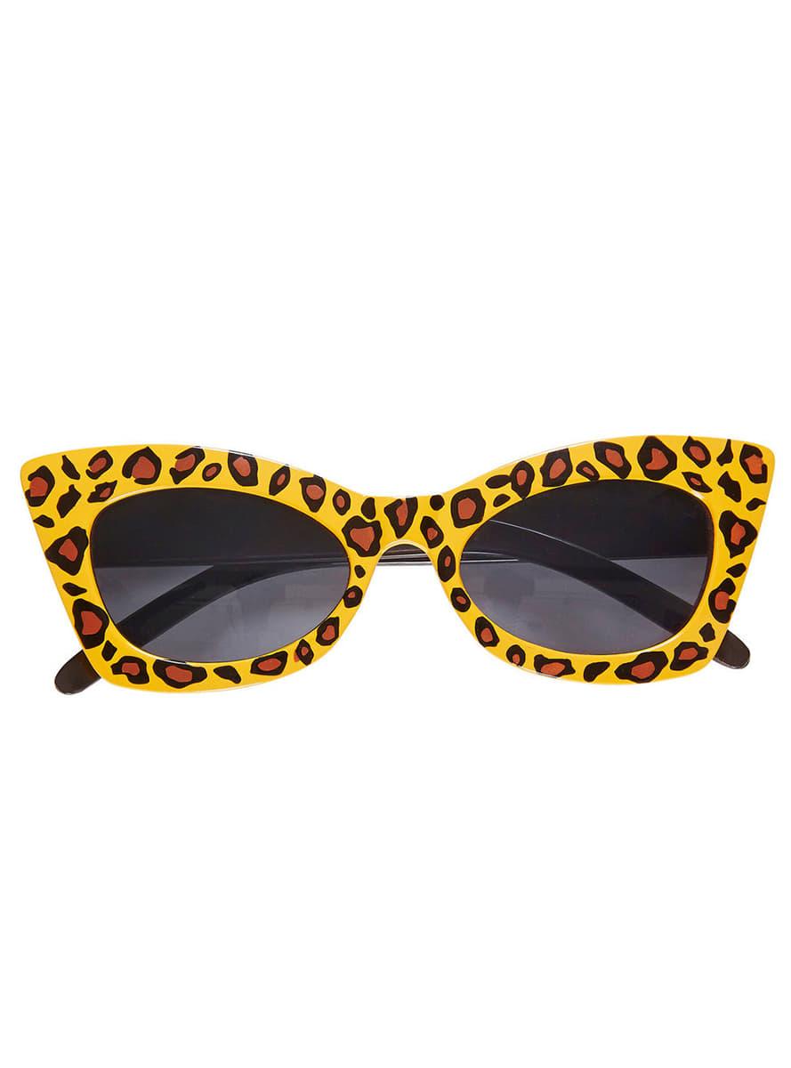 revisa a233a 5139d Gafas de leopardo retro para adulto