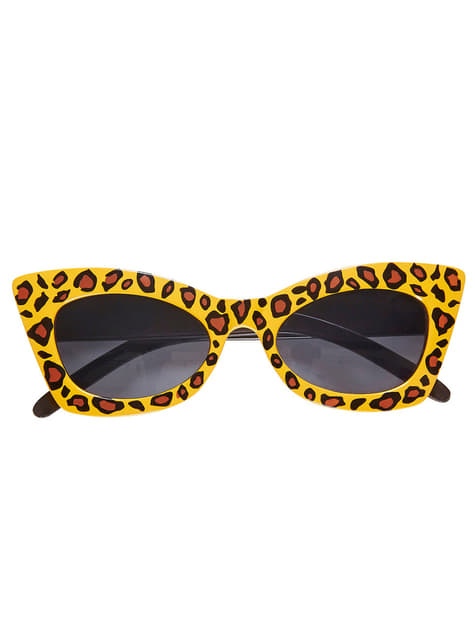 Ενηλίκων γυαλιά ηλίου ρετρό Leopard