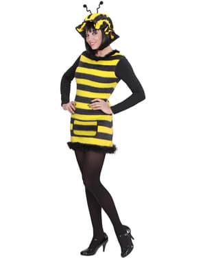 Fato de abelha coquete para mulher