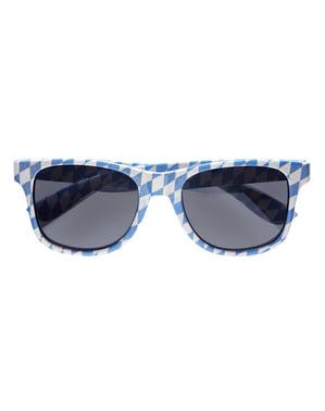 Óculos de Oktoberfest para adulto