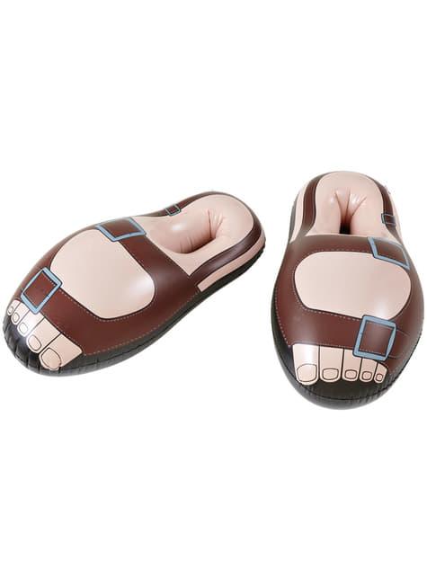 Sandalias de peregrino hinchables para hombre