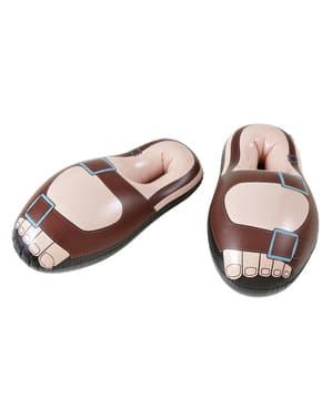 Човешки надуваеми сандали