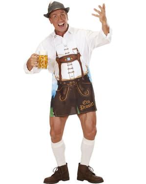 Oktoberfest schort voor mannen
