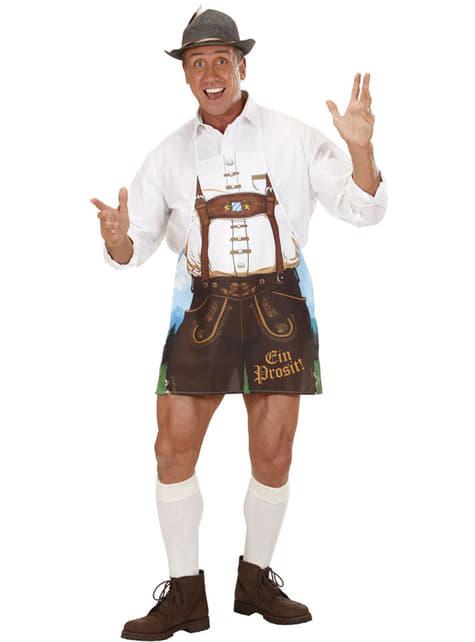 Avental de homem bávaro