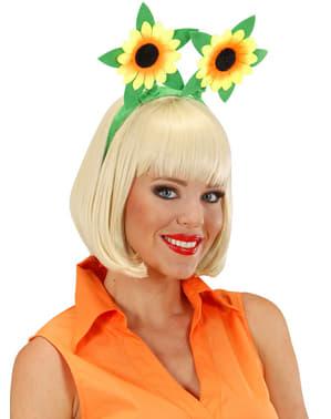 Diademă cu floarea soarelui