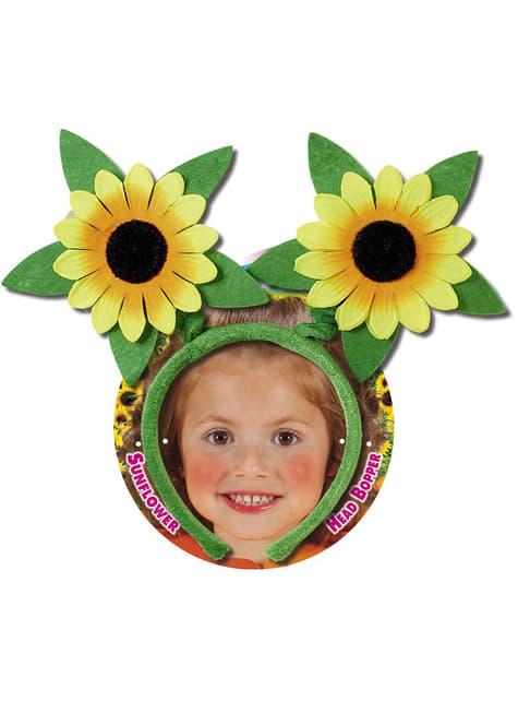 Diadema con girasoles - Carnaval
