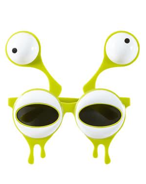 Óculos com antenas de Alien