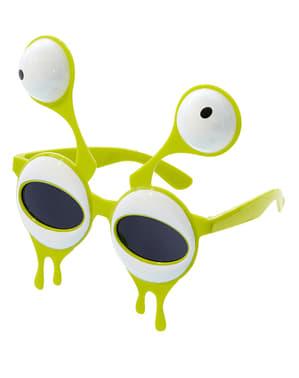 Alien-Antennen Brille