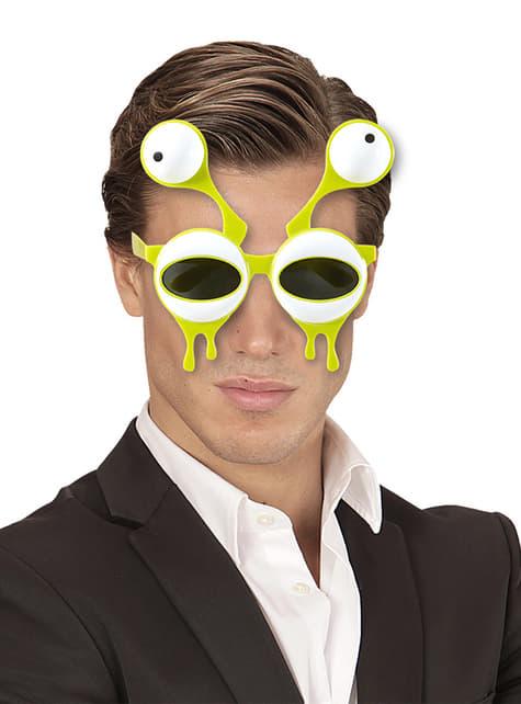 Gafas de alienígena repugnante para adulto - original