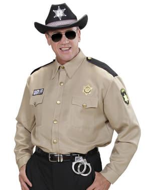 Camicia da sceriffo per uomo