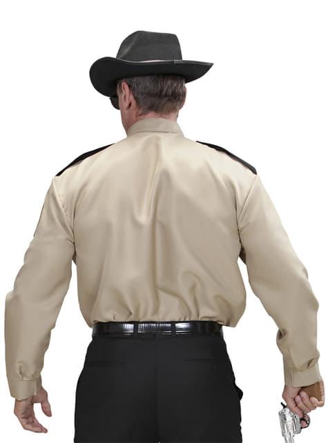 Camisa de sheriff para hombre - hombre