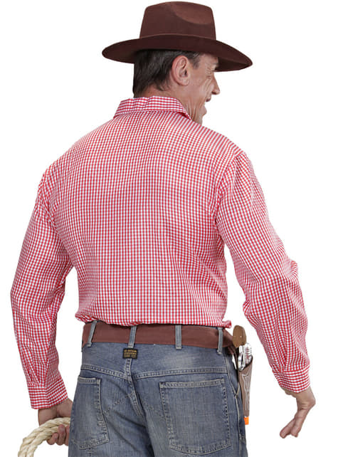 Camisa de vaquero de rodeo para hombre talla grande - hombre