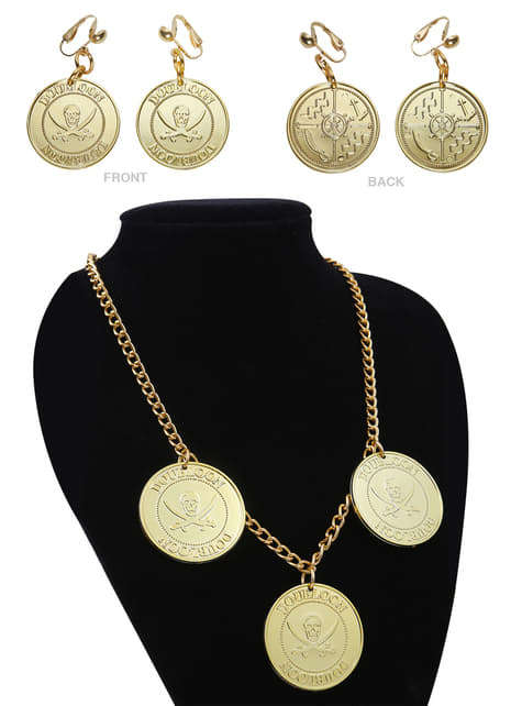 Woman's Necklace and Earrings Set
