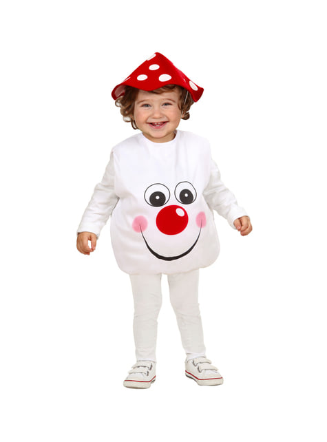 Baby's Adorable Mushroom Costume
