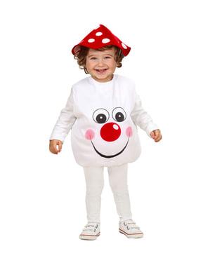 Søt Sopp Kostyme Baby