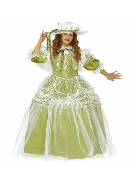 Adelskvinne Kostyme Jente