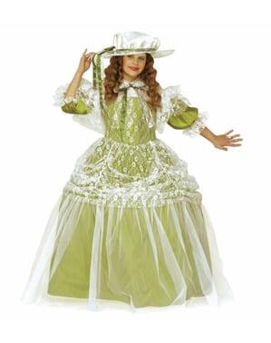 Costum de damă nobilă pentru fată