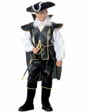 Mutiger Pirat Kostüm für Jungen Deluxe