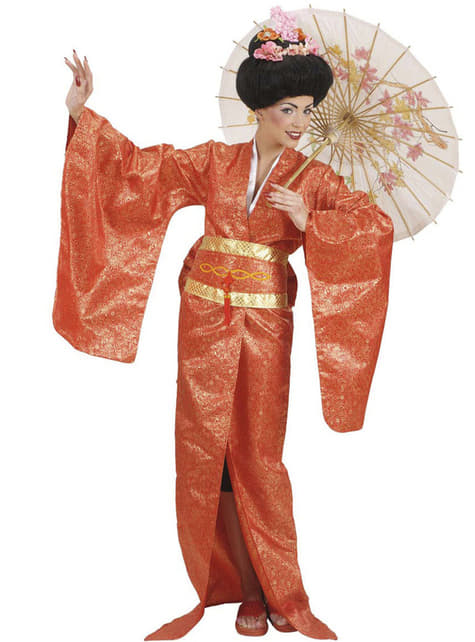 Plus Size Geisha Costume for women