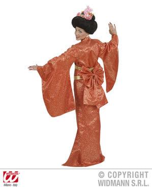 Disfraz de Geisha clásica para mujer talla grande