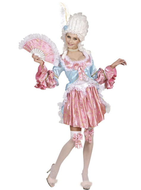 Déguisement courtisane baroque femme