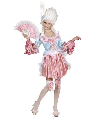 Barokk Luksusprostutiert Kostyme Dame