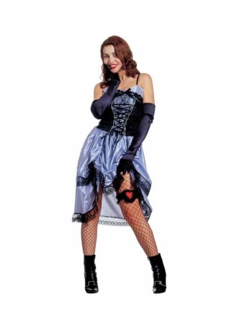 Costume da dama del far west per donna