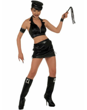 Woman's Little Miss Leather Costume