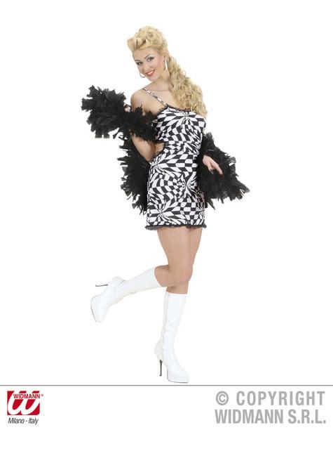 Disfraz de disco sugerente para mujer - Halloween