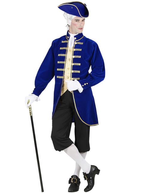 Strój barokowy Markiz dla mężczyzn plus size