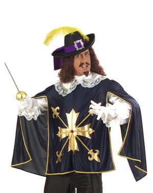 Чоловічий мужній пальто мушкетера