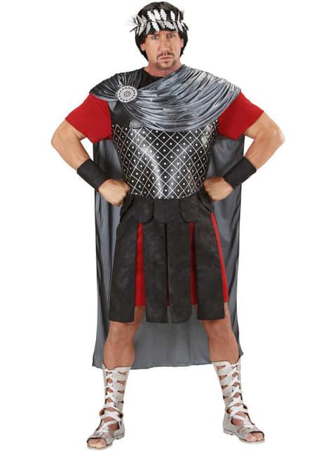 Fato de imperador romano para homem