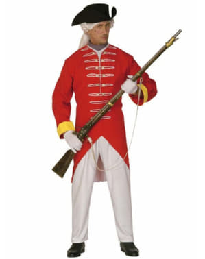 Man's Revolutionary Soldier Costume