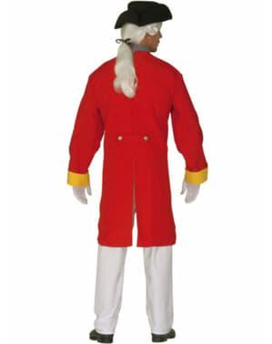 Disfraz de soldado de la revolución para hombre