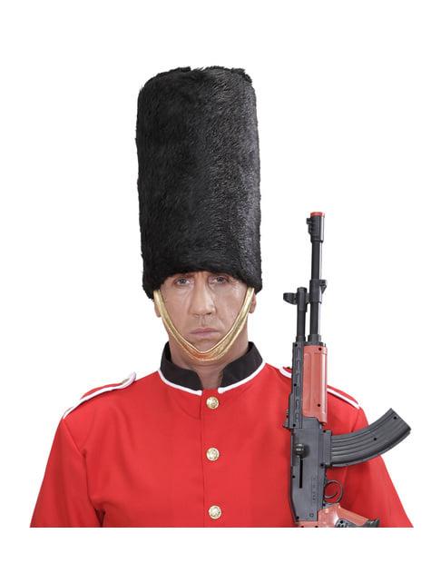 Sombrero de guardia real inglés para adulto