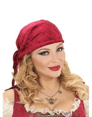 Piraten halsband voor volwassenen