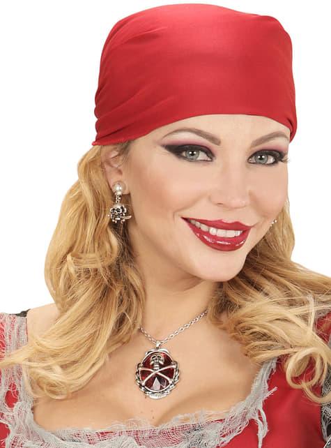 Collar de pirata saqueador para adulto - para tu disfraz