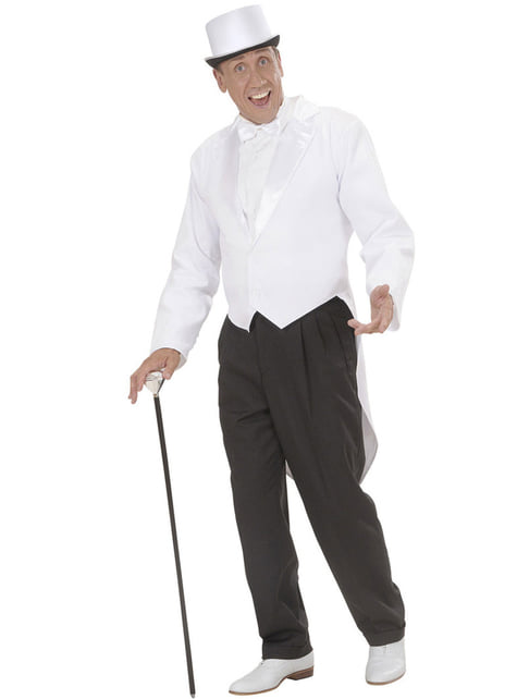 Man's White Tailcoat