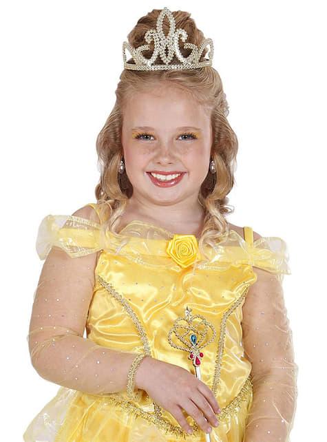 Coroa dourada de rainha