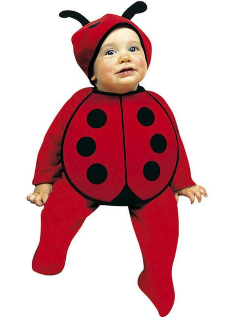 Bavoir et chapeau coccinelle rose bébé