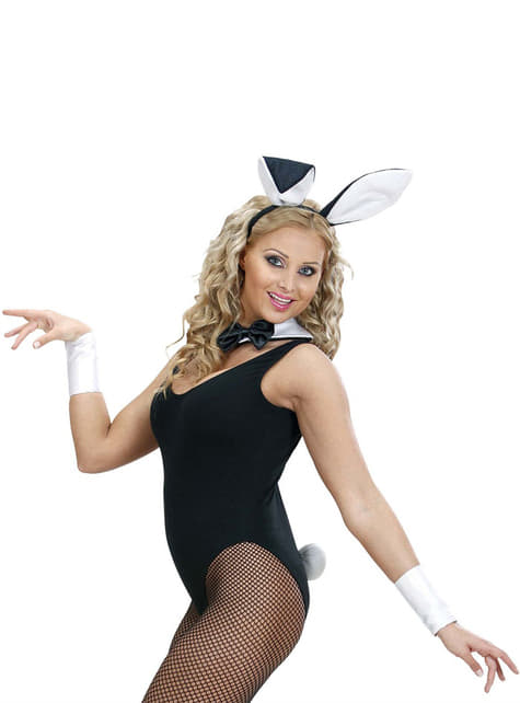 Woman's Provocative Bunny Costume