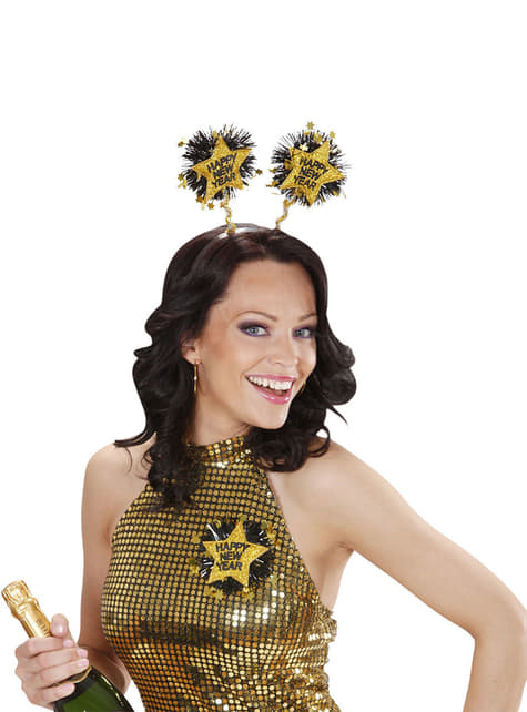 Diadema Happy New Year para adulto - para tu disfraz