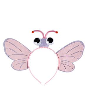 Diademă cu fluture