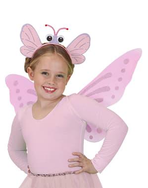 Diadema de mariposa