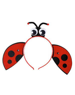 Girl's Ladybird Headband