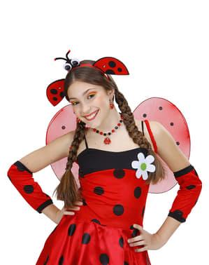 Diadeem met lieveheersbeestje voor meisjes