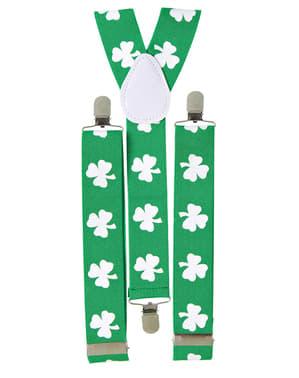 Bretelle Saint Patrick per adulto