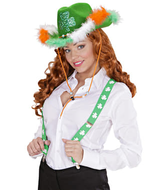 Bretelle Saint Patrick per adulto