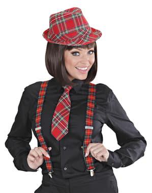 Bretelles écossaises adulte